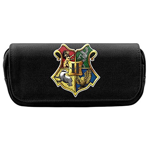 Harry Potter Astuccio Portapenne Harry Astuccio Kids Pencil Case Portapenne Cosmetic Bag Storage Sacco Per Bambini Adolescenti Ragazzi Bambini Casa Ufficio Scuola