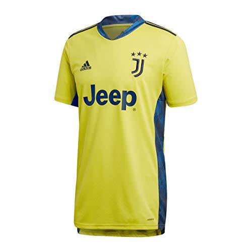adidas Juventus FC Stagione 2020/21 Juve GK JSY Maglia Portiere Unisex Adulto, Unisex - Adulto, Maglia da Portiere, FI5004, Giallo/Blu Navy (amasho/Navblu), XL