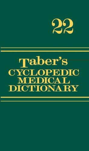 Taber's Cyclopedic Medical Dictionary (Thumb-indexed Version)