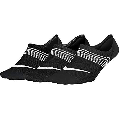 Nike Womens 3PPK Lightweight Training Socks BlackWhite Medium