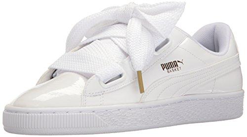 Puma Basket Heart Donna US 7 Bianco
