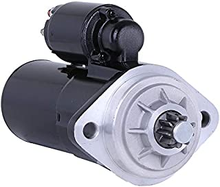 Rareelectrical NEW 12 VOLTS 9 TEETH STARTER COMPATIBLE WITH MERCRUISER MARINE INBOARD 8.1S HO HORIZON 350 454 8CYL 30459
