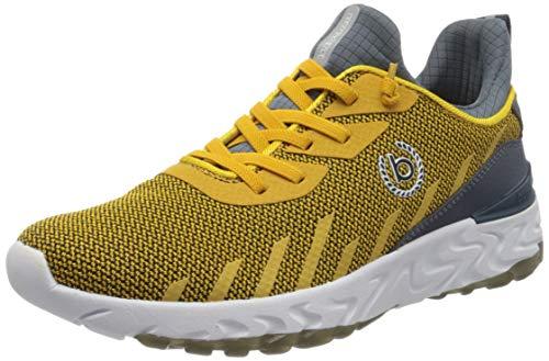 bugatti Herren 341928606900 Slip On Sneaker, Gelb, 42 EU