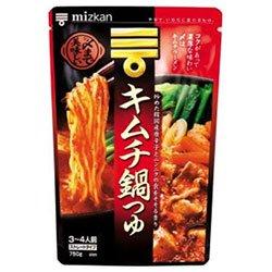ミツカン 〆まで美味しい キムチ鍋つゆ ストレート 750g×12袋入×(2ケース)