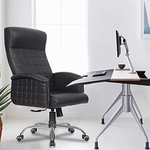 Green Soul Elite High Back Leatherette Boss Dynamic Chair (Black)
