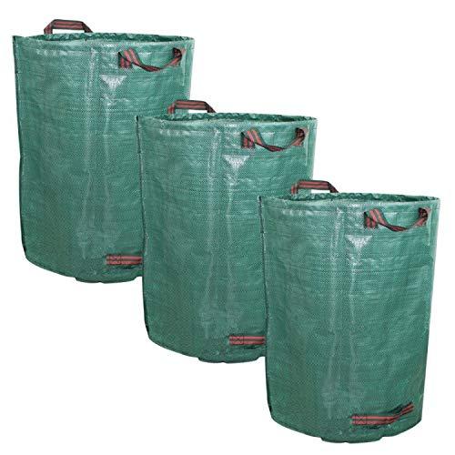 Linxor France ® Lot de 3 sacs de déchets 160L au choix en PP 150g/m² autoportants - Norme CE
