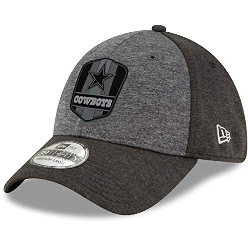 New Era 39Thirty Cap NFL Black Sideline Dallas Cowboys L/XL
