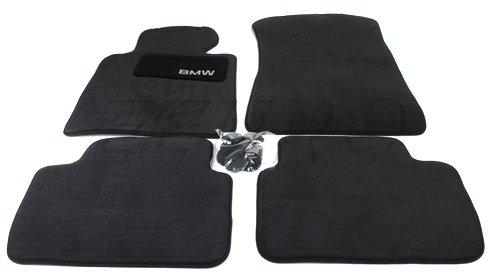 BMW Carpet Floor Mats 323 325 328 330 Sedan & Wagon (1999-2005), Coupe (2000-2006) - Black