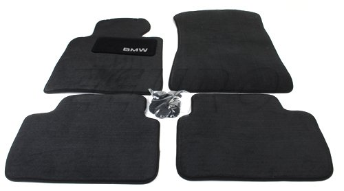 BMW Carpet Floor Mats 323 325 328 330 Sedan & Wagon (1999-2005), Coupe (2000-2006) - Black