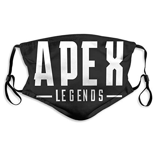 Apex Legends Herren und Damen verstellbare Sturmhaube Sportmaske für Jungen und Mädchen, waschbar und wiederverwendbar, S