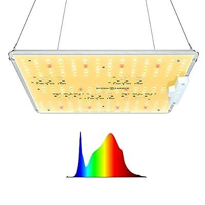 SPIDER FARMER 2x2 ft LED Grow Light Use with Samsung LEDs Sunlike Full Spectrum Grow Lights for Indoor Plants Seeding Veg Flower Greenhouse Growing Lamps 3000K 5000K 660nm 760nm IR (SF1000D)