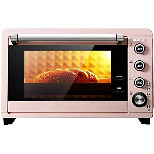 KAUTO 45L Oven,Electric with Temperature Setting 50-230℃ 20 Mins Timer Double Glazed Door Toaster Oven 8 Baking Functions Countertop Oven