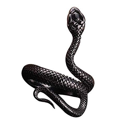 Wicemoon Schlange Modellierung Ringe Öffnung Einstellbar Finger Ring Schmuck