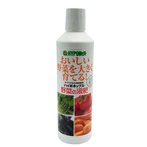 ハイポネックスジャパン 液体肥料 ハイポネックス 野菜の液肥 450ml