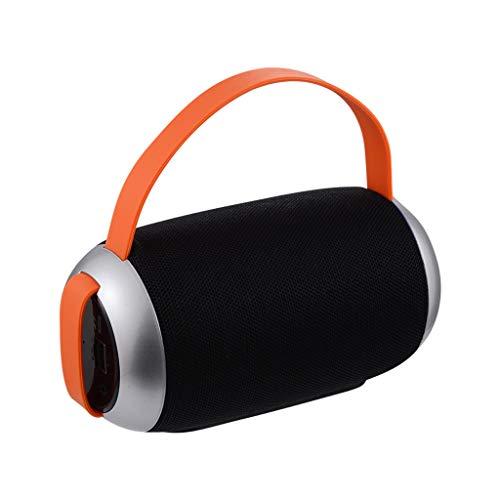 LRWEY Wireless Bluetooth Speaker Column Stereo Subwoofer Waterproof Portable Speaker für iPhone, Samsung usw.