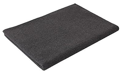 "Rothco Wool Blanket, Grey, 62"" x 80"""