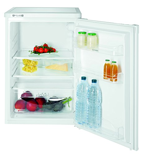 Indesit TLAAA 10 Kühlschrank/A++ / 85,0 cm Höhe / 91 kWh/Jahr / 126,0 L Kühlteil / 0,0 L Gefrierteil/nur 0,249 kWh/24 Stunden / 55-cm-Breite/weiß