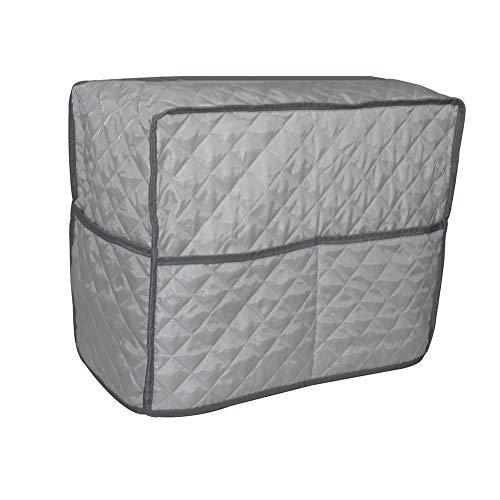 Tuyu Gesteppte Nähmaschinen-Abdeckung, TYDZ474, Nähmaschinen- und Extra-Zubehör, Aufbewahrungstasche mit 3 Außentaschen