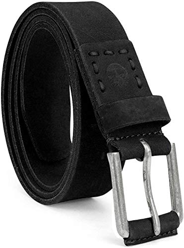 Timberland Men's 40Mm Pull Up Leather Belt, Black, 38