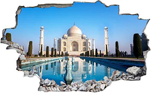 Tadsch Mahal Palast Indien Wandtattoo Wandsticker Wandaufkleber C0860 Größe 40 cm x 60 cm