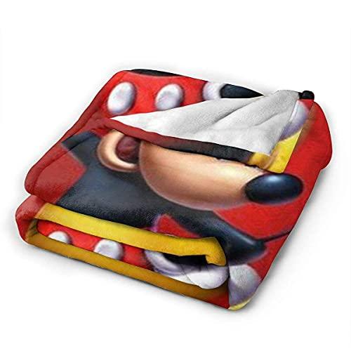 Be Cool Mickey Mouse flanella coperta per la casa camera da letto divano interno esterno campeggio donne uomini ragazzi ragazze regali 152,4 x 127 cm 203,2 x 152,4 cm