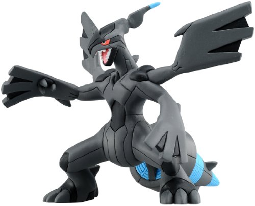Takaratomy Pokémon Best Wishes Hyper Size MHP-04 Zekrom Overdrive Figurine