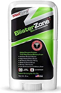 BlisterZone Blister Gel and Skin Protectant for Feet and Hands - 0.8 Ounce Stick by MedZonee