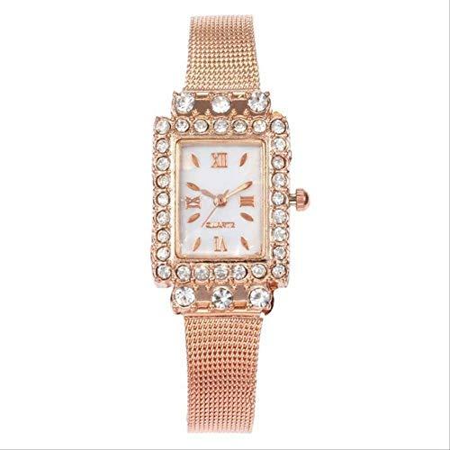 WLKVUOT vrouwen kwartshorloges Rose Gold Square Dial Horloges