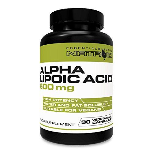 Natroid Alpha Lipoic Acid 600mg