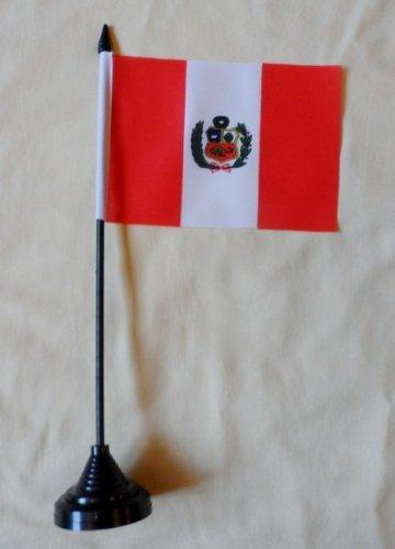 1000 Flags Pérou Drapeau de Table