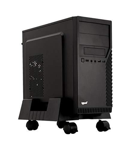iggual SOP1 Soporte CPU Ajustable con Ruedas