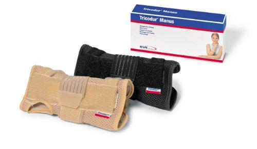 Tricodur Manus Handgelenksbandage,links, Gr. L/XL, schwarz