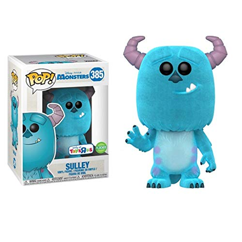 Funko Pop Animation : Monsters - Sulley (Flocking Limited Version) 3.75inch Vinyl Gift for Anime Fans SuperCollection