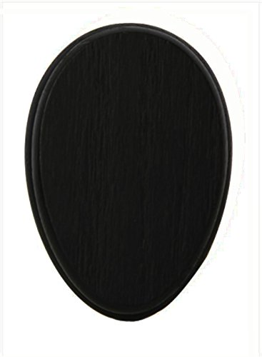 AllAmishFurniture Set of Two Amish Towel Magic Marble Holder Black Paint Oak Hardwood