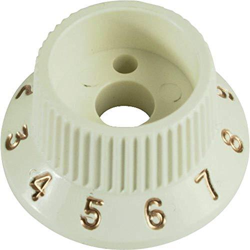 Fender Bouton S1 Switch Strat par 2 parchment