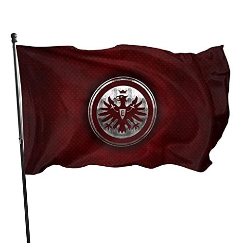 Eintr-Acht Fran-Kfurt Familienfahne Gartenflagge Gartenflagge bedruckt Welcome Partyfahne Dekofahnen Wettkampffahnen