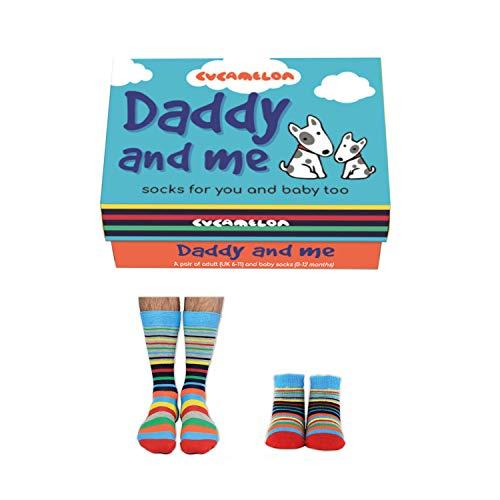 Cucamelon Papa Socken für Vater & Sohn (2 Paar) - Strumpf