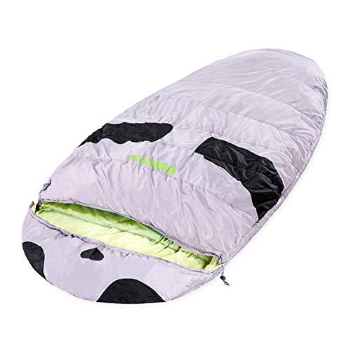 AG Portable en Plein air Sac de Couchage Augmenter Widen Surdimensionné Adulte Camping Épaissir Printemps Eté Hiver Garder Au Chaud,Gris Vert,1,9 kg