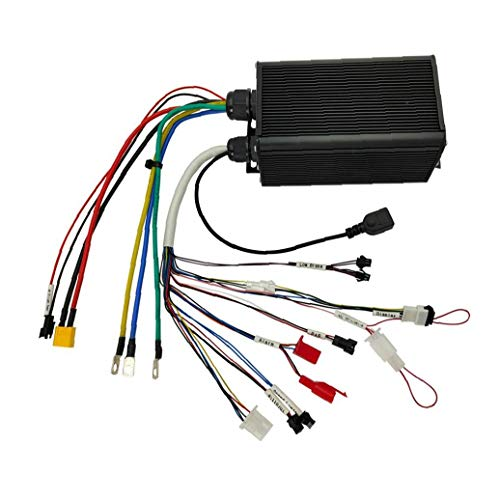 Gracy Motor Controller Brushless Sine Wave Controller 36-72V Electric Vehicle Controller for E-Bike Electric Bike Scooter Black,Components