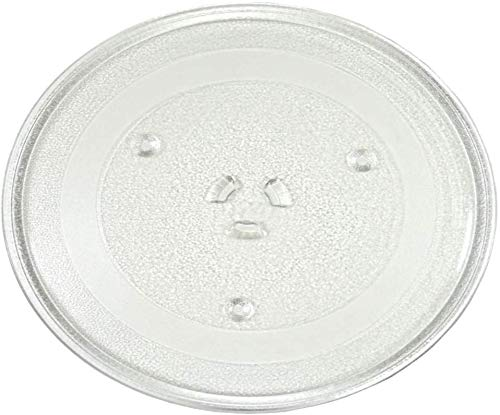 HQRP 11.25' / 28.5cm Glass Turntable Tray Compatible with Maytag, GE, Hotpoint, Samsung, Magic Chef, Panasonic, Oster, Sunbeam, Sears, Kenmore, Danby, Jenn-Air Microwave Oven Plate 285mm 11-1/4 inch