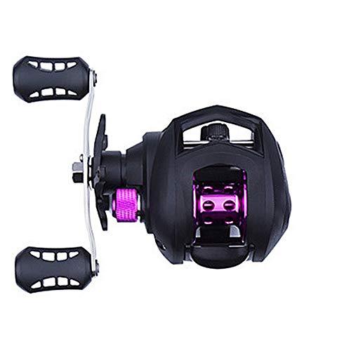 Carrete de pesca Carrete de pesca Ree Spinning Carretes Ruedas para ejercicio al aire libre con imanes zurdos, accesorios de pesca