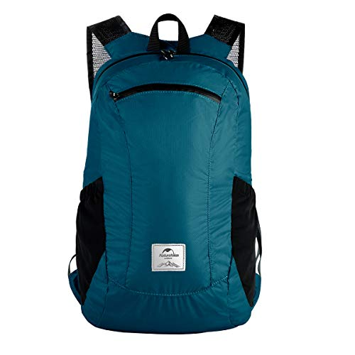 Naturehike Lightweight Packable Backpack,18L/25L Ultralight Foldable Small Travel Hiking Backpack Daypack for Men Women Outdoor (18L Indigo)