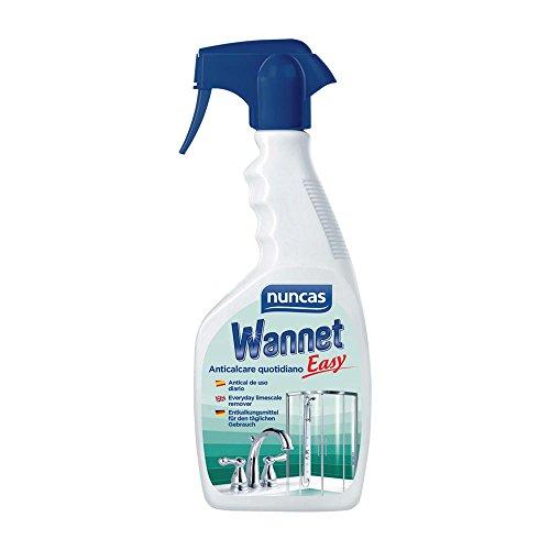 nuncas Wannet Easy Detergente Anticalcare - 500ml