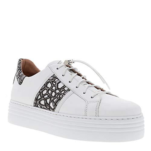 Mjus Damen Sneaker Low Valley weiß 40