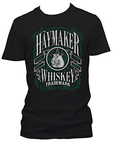 Raxxpurl Haymaker Whiskey Retro Fun Herren T-Shirt_schwarz_XXL