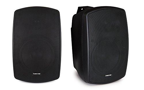 Fonestar elipse-6 50 W zwarte luidspreker - luidspreker (XLR, bedraed, TERMINAL, 50 W, 50-20.000 Hz, zwart)
