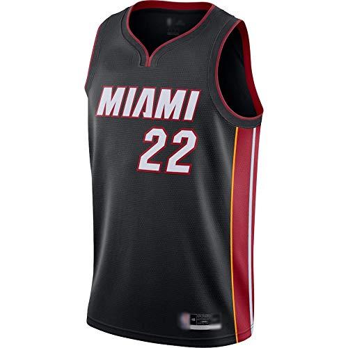 Caelpley Camiseta de baloncesto al aire libre Jimmy NO.22 Butler 2020/21 Jersey Transpirable Entrenamiento Ropa Deportiva Icono Edición