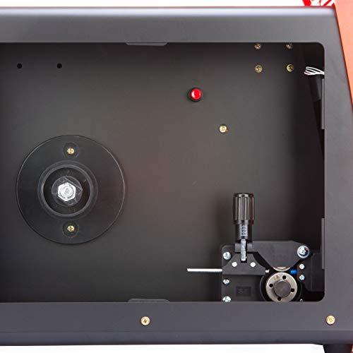 Röhr MIG-200FI - Soldador MIG Inverter con Gas de 200 Amp -240 V con Alambre de Núcleo Fundente - Tecnología IGBT - CC