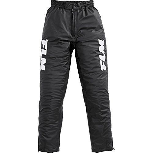 FLM Regenhose Damen und Herren wasserdicht Sports Stretch-Regenhose 1.0 schwarz L, Herren, Multipurpose, Sommer, Textil