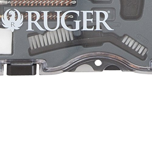 Allen Company Ruger Rimfire Gun Cleaning Kit, .22 Caliber Rifles & .22 Caliber Pistols, Bronze Bore Brushes, Brass Jags, and Heavy-Duty Brass Cleaning Rod